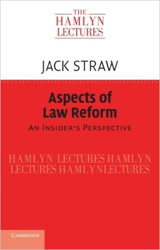 Jack Straw - Aspects of Law Reform